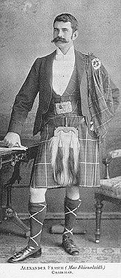 Author photo. Alexander Fraser (1860-1936)