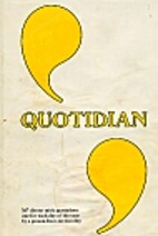 Quotidian by Gudrun Cable