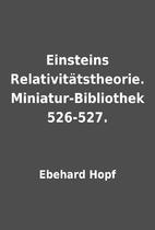 Einsteins Relativitätstheorie.…