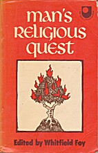 The Religious Quest: A Reader by Whitfield…