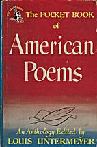 The Pocket Book of American Poems by Louis…