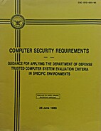 Computer Security Requirements…