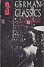 Three German Classics: Immensee / Lenz / A…
