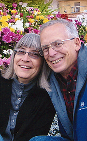 Author photo. Starr Meade and her husband Paul