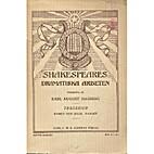 Dramatiska arbeten VI by William Shakespeare