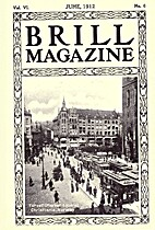 Brill Magazine, vol. VI, n° 6 by J.G. Brill…
