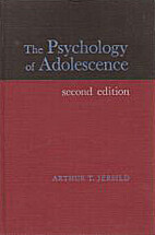 The Psychology of Adolescence by Arthur T.…