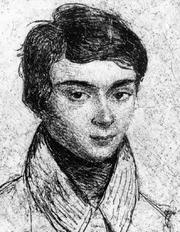 Author photo. Evariste Galois
