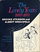 The lively years, 1920-1973 by Brooks…