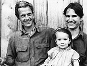 "Author photo. From the book ""This Life is in Your Hands"", Melissa Coleman with her parents, Eliot and Sue Coleman, in 1972."