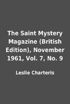 The Saint Mystery Magazine (British…