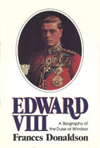 Edward VIII by Frances Donaldson