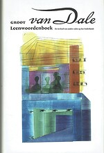 Van Dale Groot Leenwoordenboek. De invloed van andere talen op het Nederlands - Nicoline VAN DER SIJS
