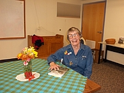 Author photo. My first book-signing