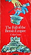 Fall of the British Empire by Colin Cross