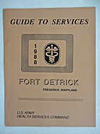 Guide to Services, Fort Detrick, Frederick,…