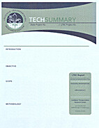 TECHSUMMARY : Long-Term Monitoring of the…