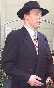 Author photo. Credit: Túrelio (Wikipedia user), 2000, Köln, Germany
