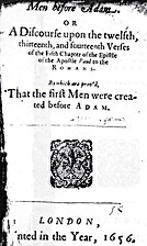 Men before Adam, or, A discourse upon the…