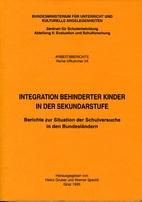 Integration behinderter Kinder in der…
