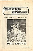 Metro Times (Issue #23 )Deva Sanchez by…