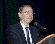 Author photo. Craig L. Symonds [credit: The Cleveland Civil War Roundtable]