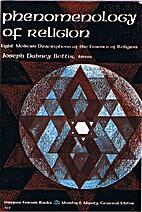 Phenomenology of religion; eight modern…