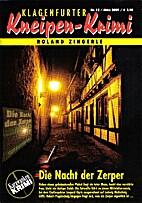 Die Nacht der Zerper by Roland Zingerle