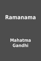 Ramanama by Mahatma Gandhi