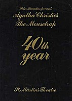 Agatha Christie's The mousetrap souverir…