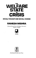 The Welfare State in Crisis: Social Thought…