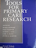 Tools for primary care research by Moira…