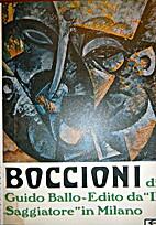Boccioni by Guido Ballo