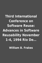 Third International Conference on Software…
