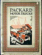 1921 Packard Motor Trucks ORIGINAL dealer…