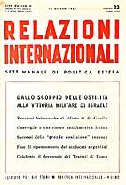 23. 1-25 : Relazioni Internazionali dal 7…