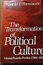 The Transformation of Political Culture:…