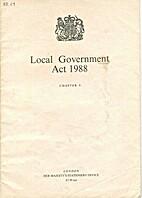 Local Government Act 1988: Elizabeth II.…