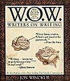Writers on Writing by Jon Winokur