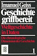 Geiss, Imanuel : Daten by Imanuel Geiss