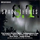 Space themes (cd) by Film Score Orchestra