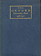 Some account of the Oxford university press,…