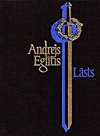 Lāsts : dzejoļi by Andrejs Eglītis