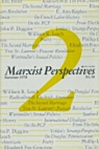 Marxist Perspectives, Volume 2 by Eugene D.…