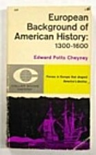 European background of American history,…