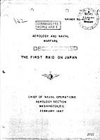 Aerology and Naval Warfare: The First Raid…