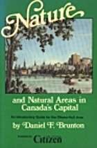 Nature and Natural Areas in Canada's…