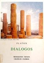 MENEXENOS,MENON,KRATILOS,FAIDROS by Platón