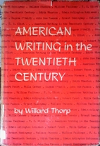 American Writing in the Twentieth Century by…