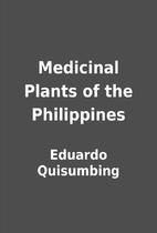 Medicinal Plants of the Philippines by…